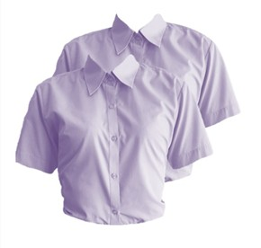 BK Sixth Form Twin Pack Blouses
