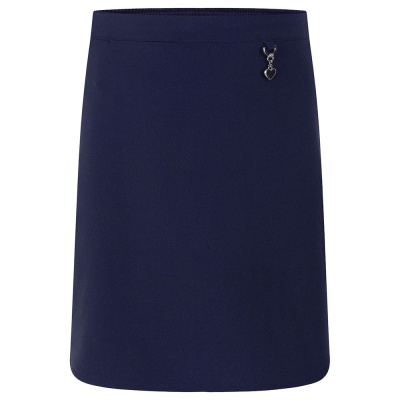 Navy Heart Skirt