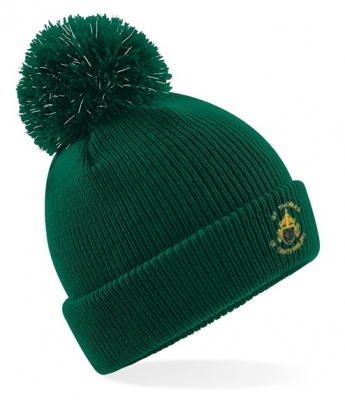 St Thomas Reflective Bobble Hat