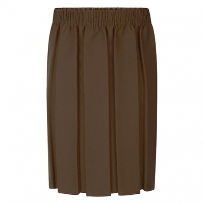 St Francis Box Pleat Skirt
