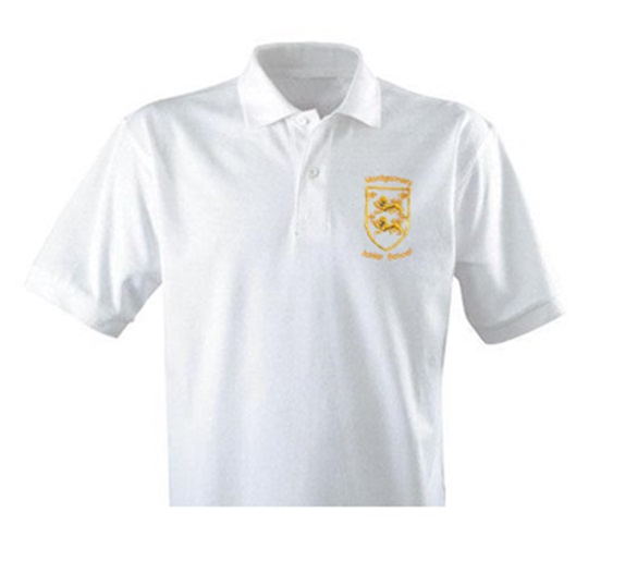 Montgomery Junior White Polo Twin Pack