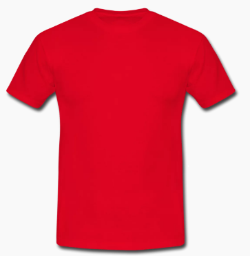 St Francis Red PE T-shirt