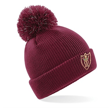 St. Mary's Reflective Bobble Hat