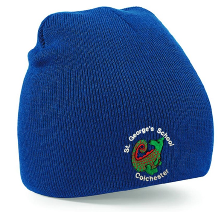 St George's Infant and Juniors Beanie Hat