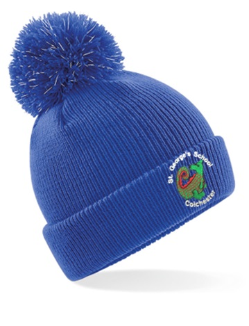 St George's Infant and Juniors Reflective Bobble Hat