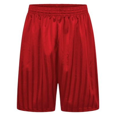Red PE Shorts