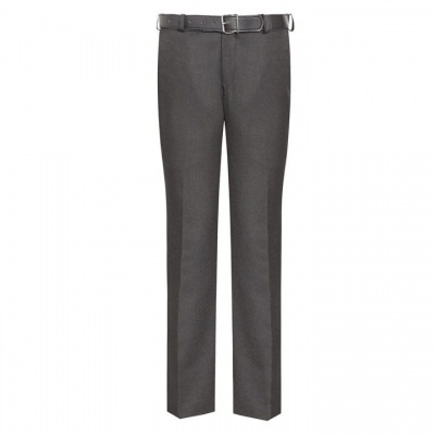 Boys Charcoal Slimfit Trouser
