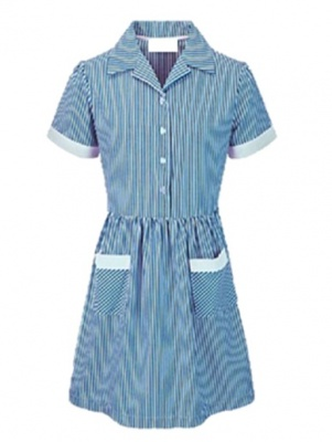 St Helen's Striped Dress